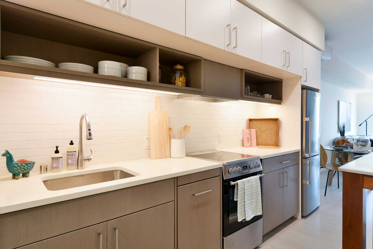 Luxury Apartments in Union City- The Union Flats Kitchen