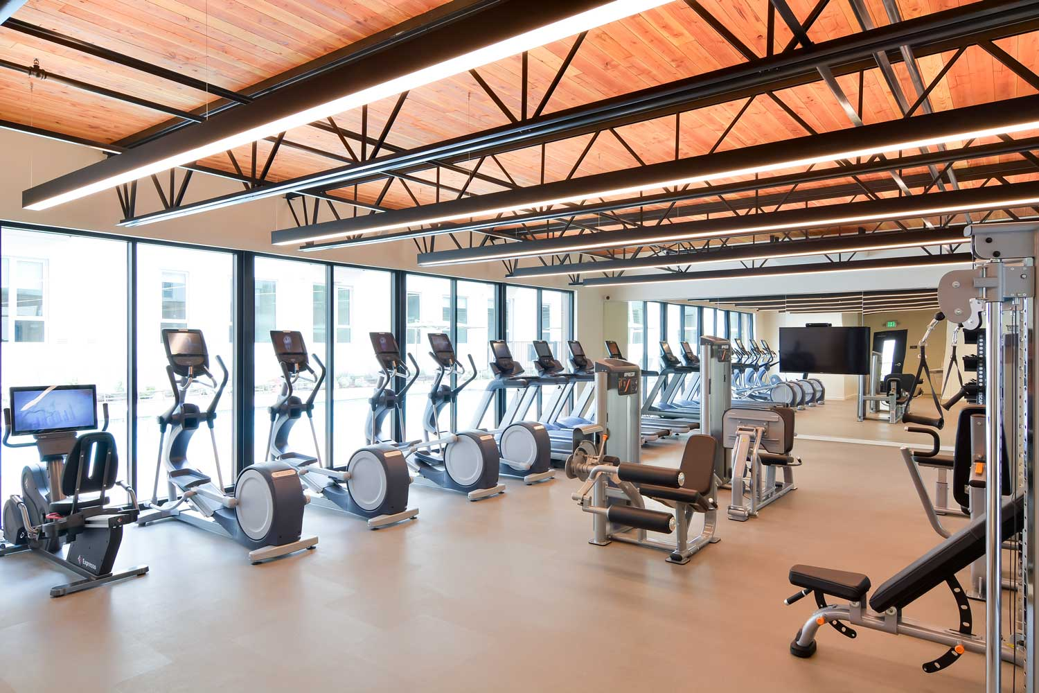 Union City California Apartments - The Union Flats Fitness Center