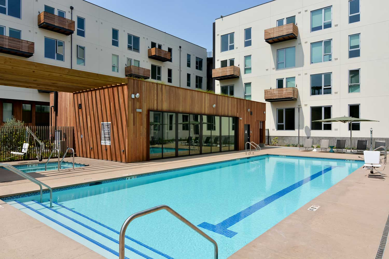 Luxury Apartments in Union City California - The Union Flats Pool