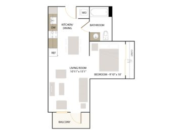 Apartment 226 floor plan