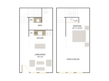 Apartment 145 floor plan